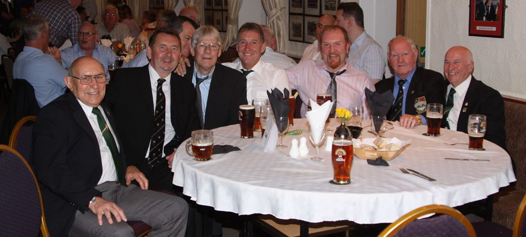Former Players Reunion, disco in the evening – Saturday 6th April